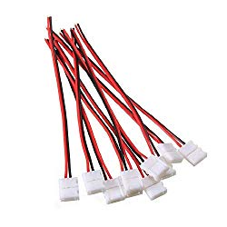 8 mm connecters for LED light strips.