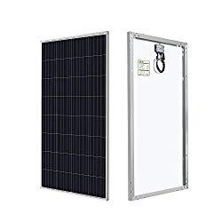 150W rigid solar panel.