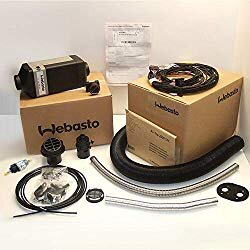 Top of the line Webasto  diesel  heater. (avoid cheap Chinese knockoffs)