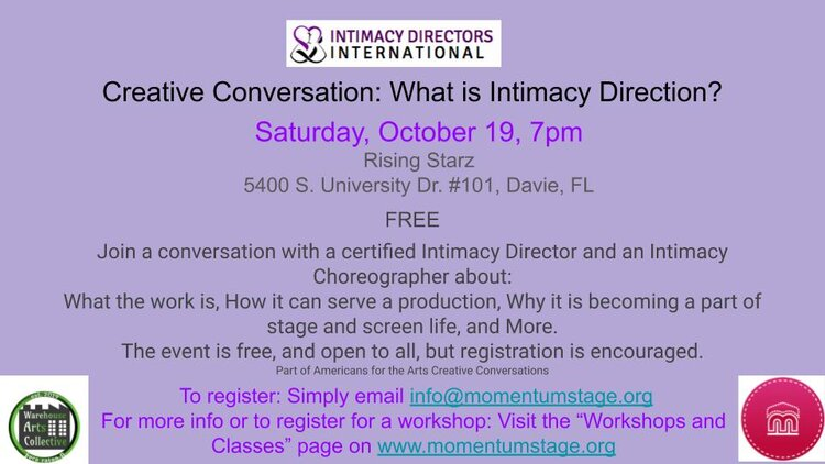 Creative Conversation on Intimacy Direction