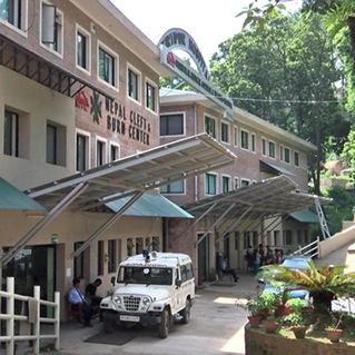 The NCBC 4 story, 16,000 square foot hospital in Kathmandu