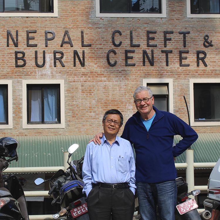 Dr. Shankar Rai and NCBC founder Jim Webber