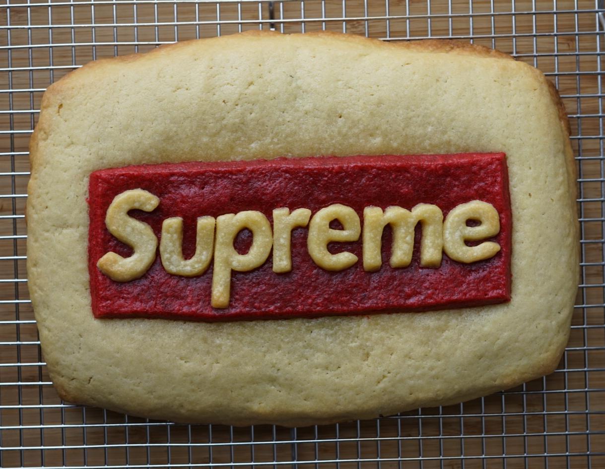 Supreme Sugar Cookie stuffed with Nutella