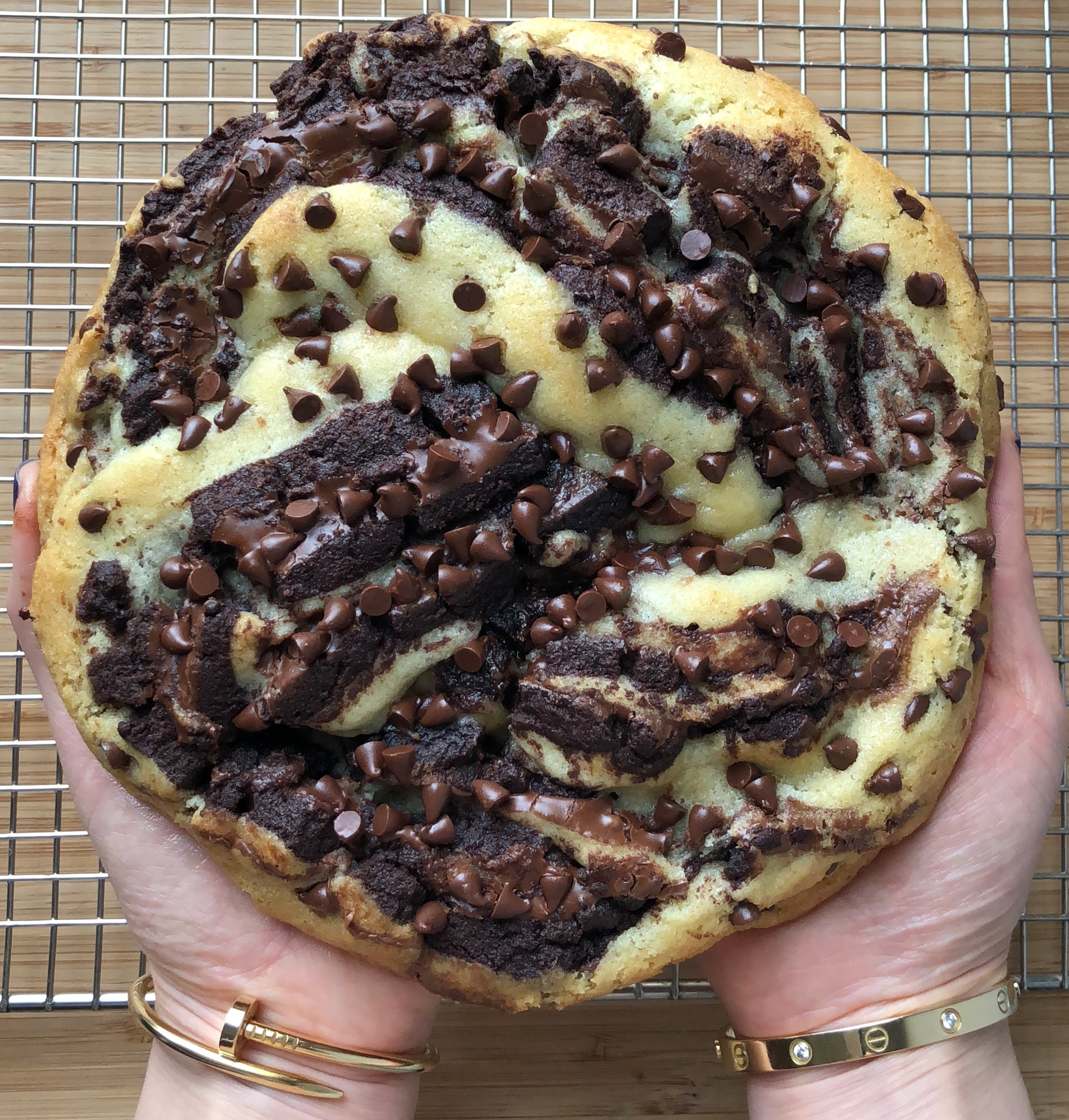 Babka Cookie (Chocolate and Sugar Cookie with Nutella)