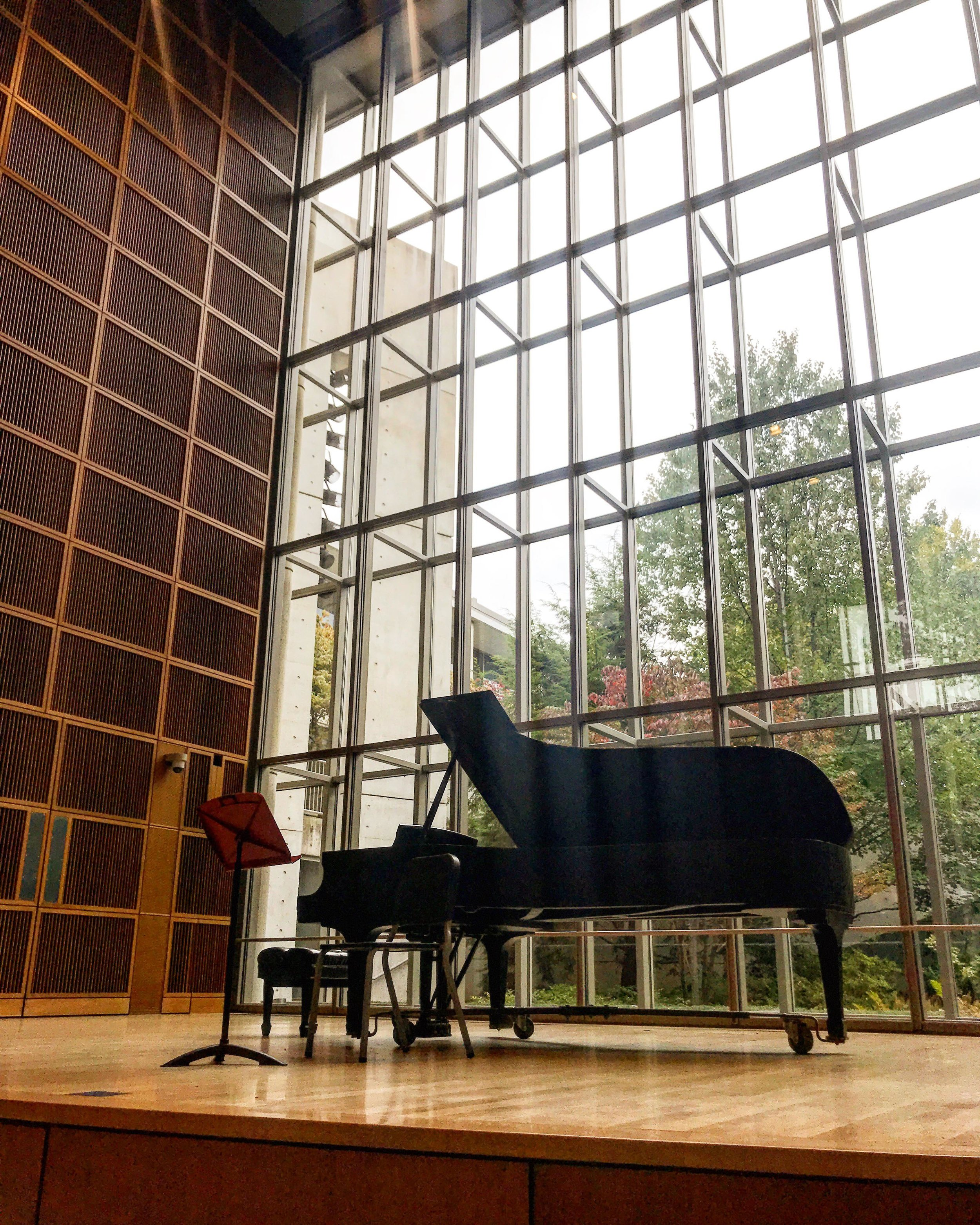 Mixon Hall at the Cleveland Institute of Music.