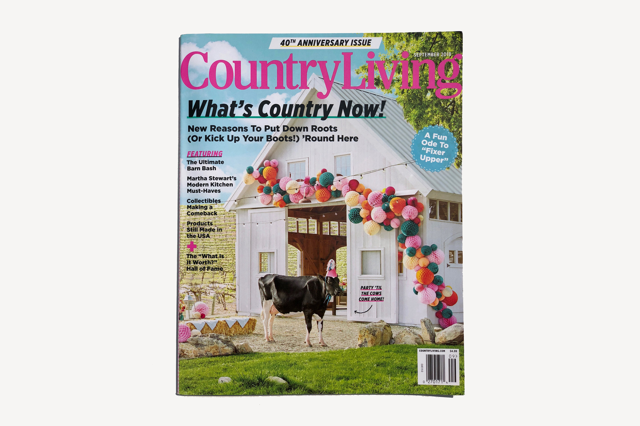Country Living - 40th Anniversary Issue