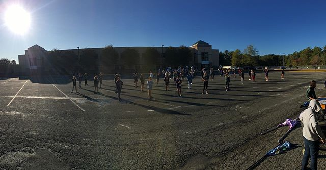 Awesome rehearsal today! Rest up we've got a big day tomorrow! #hocogame