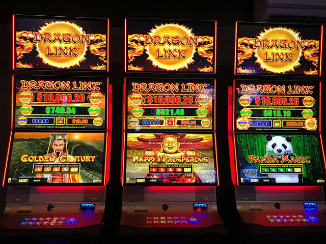 you can even have a spin on the pokies...