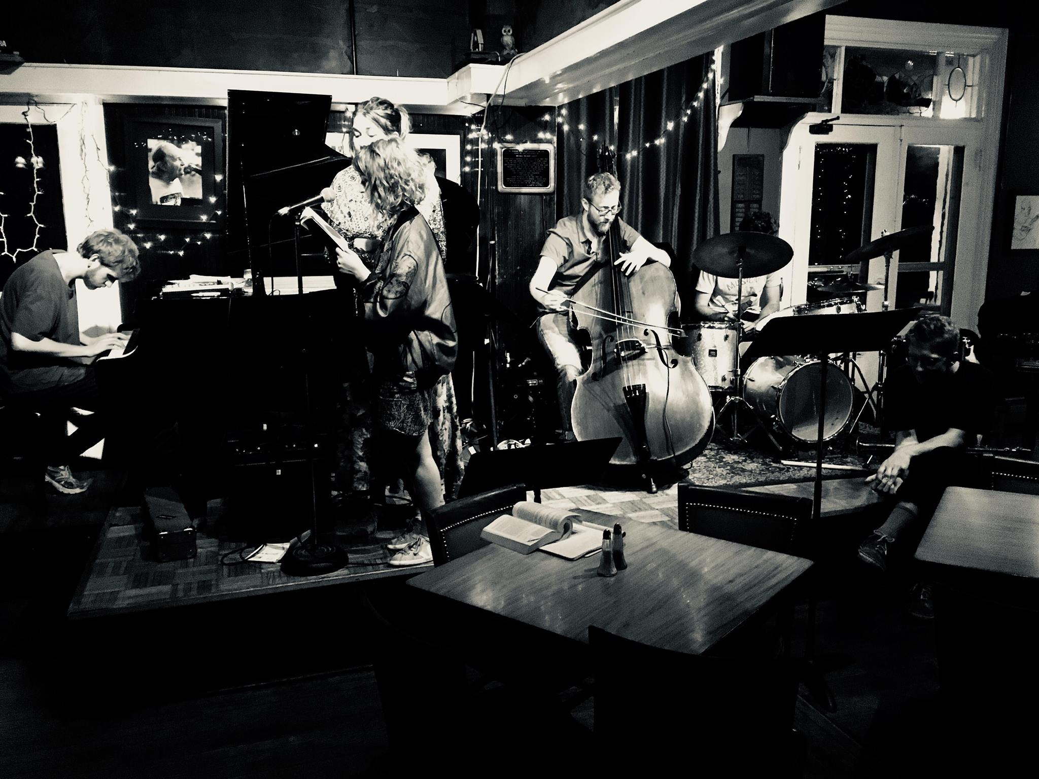Poetry and Music at the Deerhead Inn, Delaware Water Gap, PA