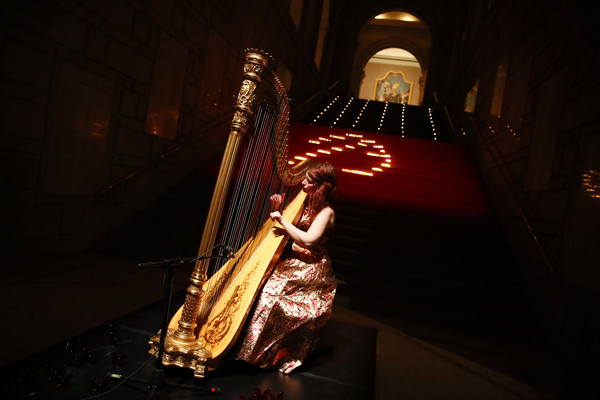 Performing for the Youngarts Gala 2019 at the Metropolitan Museum of Art