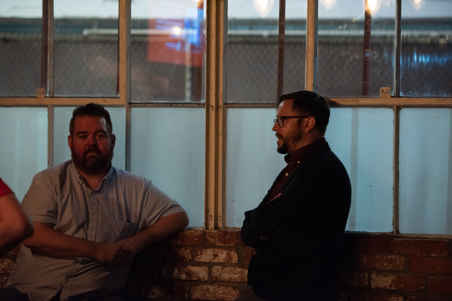 WCT Artistic Director Nick Armstrong and Westside Sketch Co. Director Cole Stratton