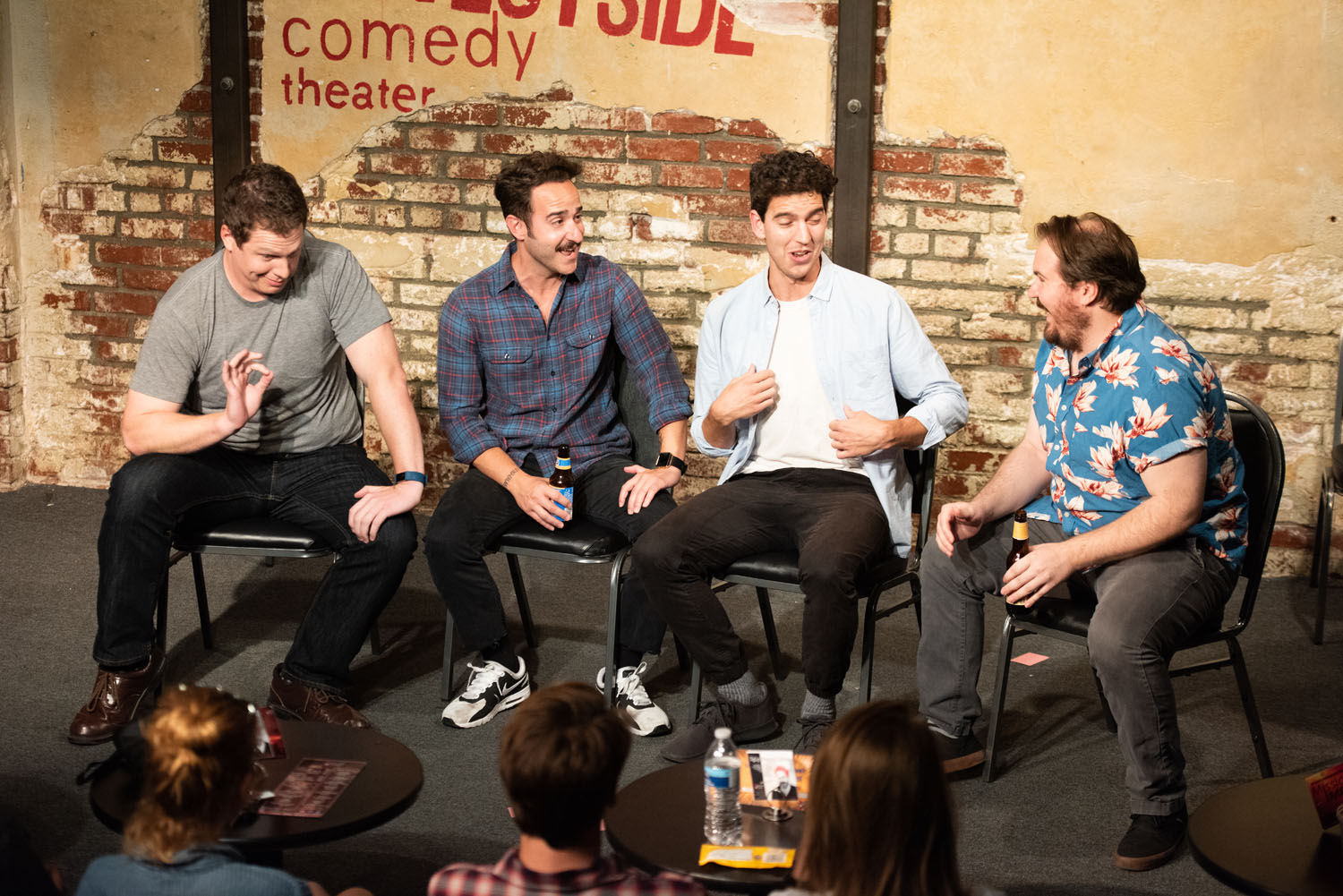 """The guys (Sam Mark, Greg Santos, Andrew Heder and Max Crandall) get rowdy in """"Getting Married So Hard"""""""