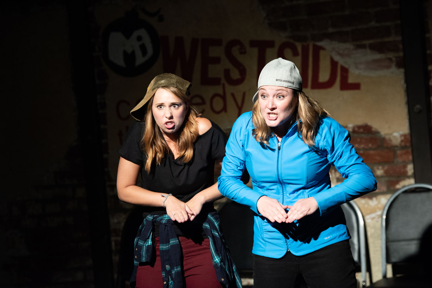 """The Beatboxers (Alonya Eisenberg and Jennifer Murray) try a take in """"Beatbox"""""""