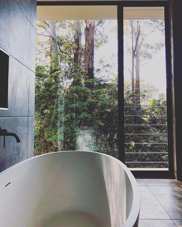 Bush views from the tub #plumbing #bathtub #bush