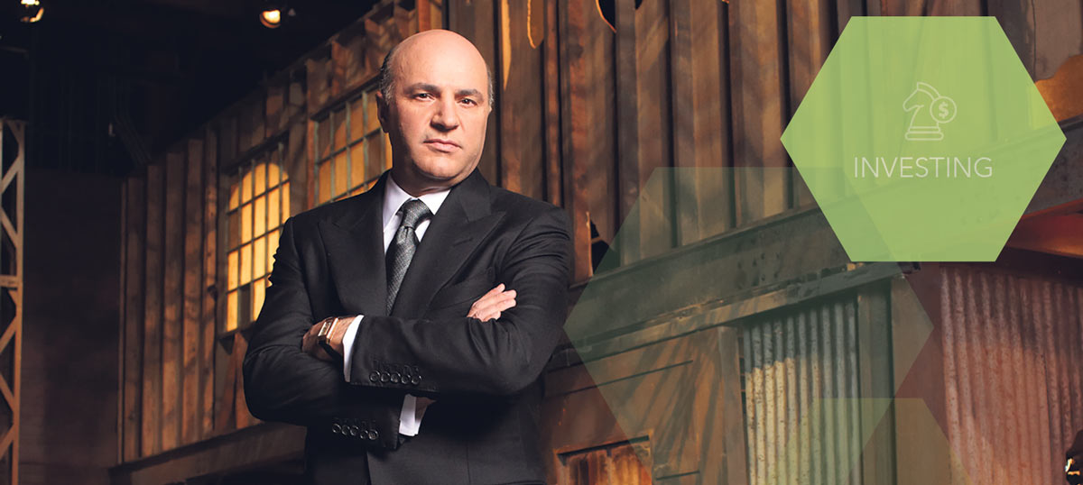 Investors need to balance the extremely high valuation of larger, more liquid companies against the survival issues of  startups, says Kevin O'Leary.  supplied