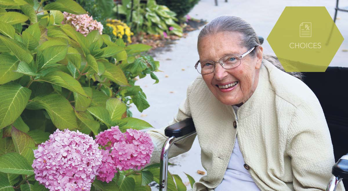 Wendy Thorburn, vice-president of the Residents' Council at Arbour Heights Long-Term Care Residence, previously viewed cannabis as a recreational drug but says she is keeping an open mind about its medical use.  SUPPLIED