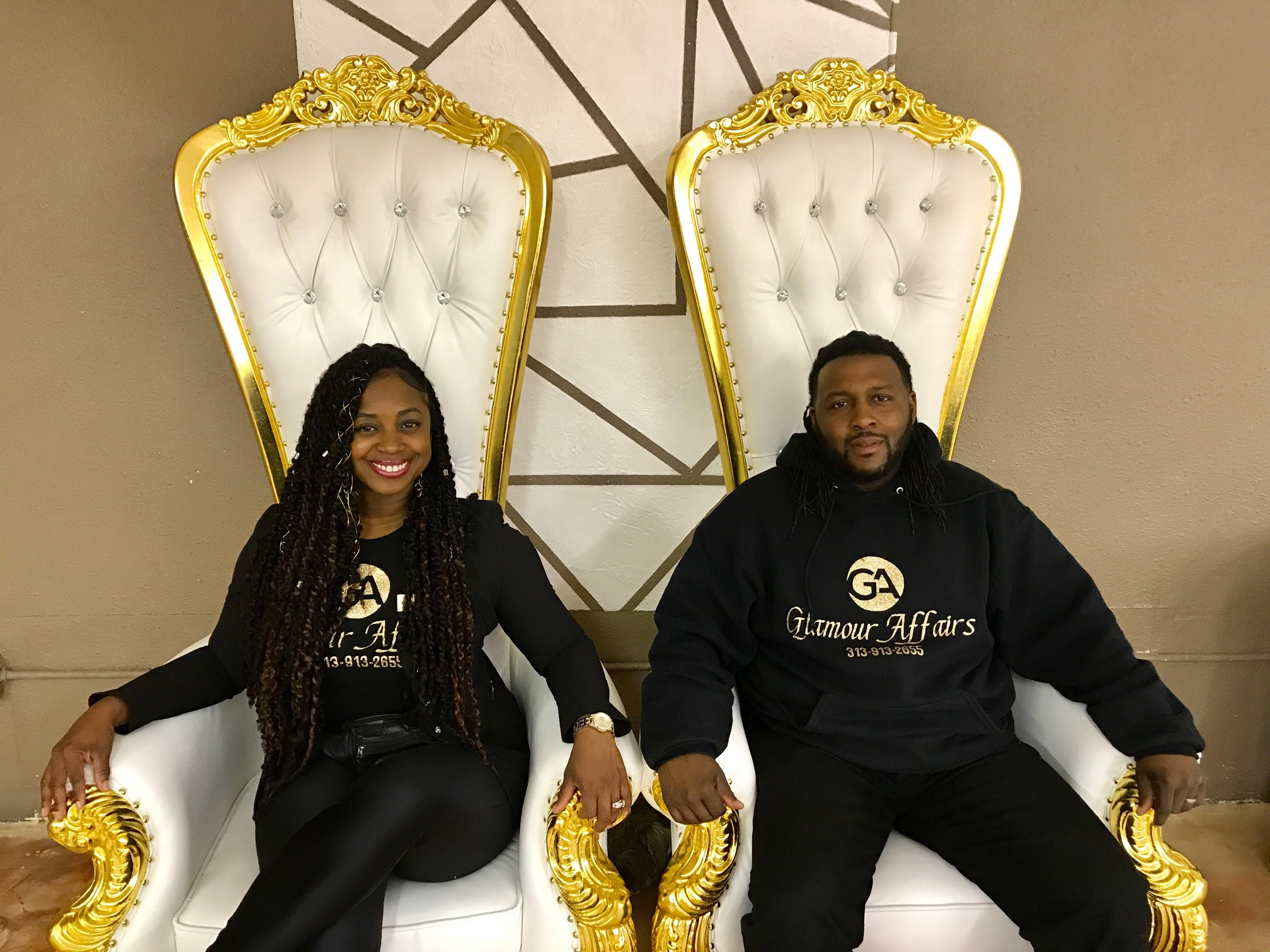 Rhonda and toyale agee - Owners, Glamour Affairs