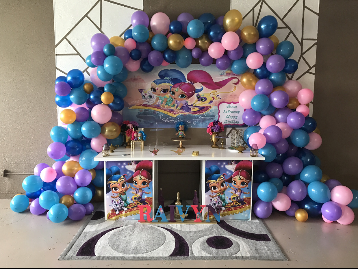organic balloon arch - Full - $300.00