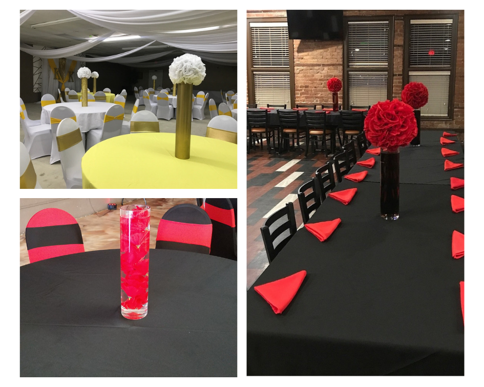 Basic Centerpieces - STarting at $15.00