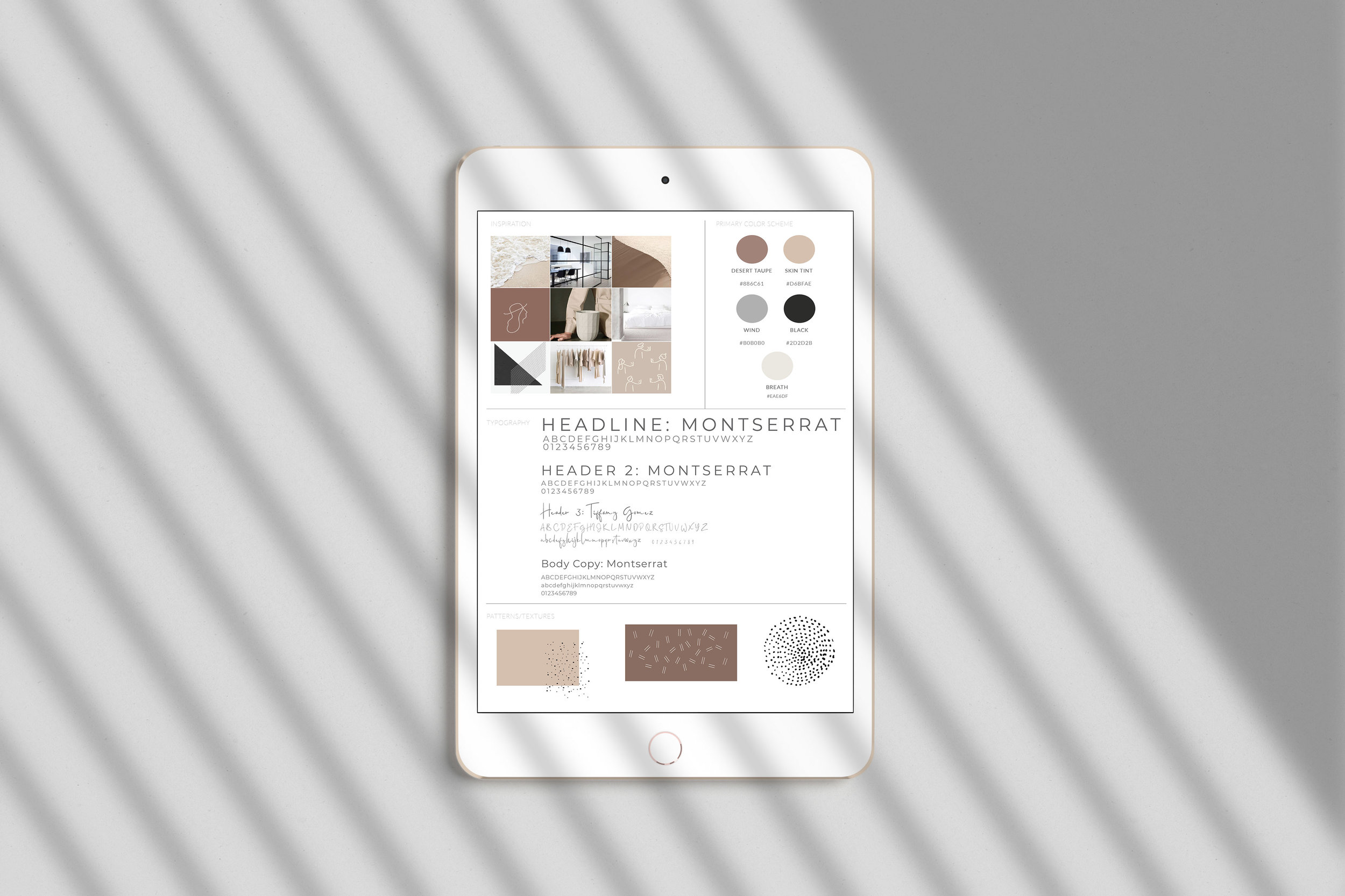 Minimalistic Brand Style Guide