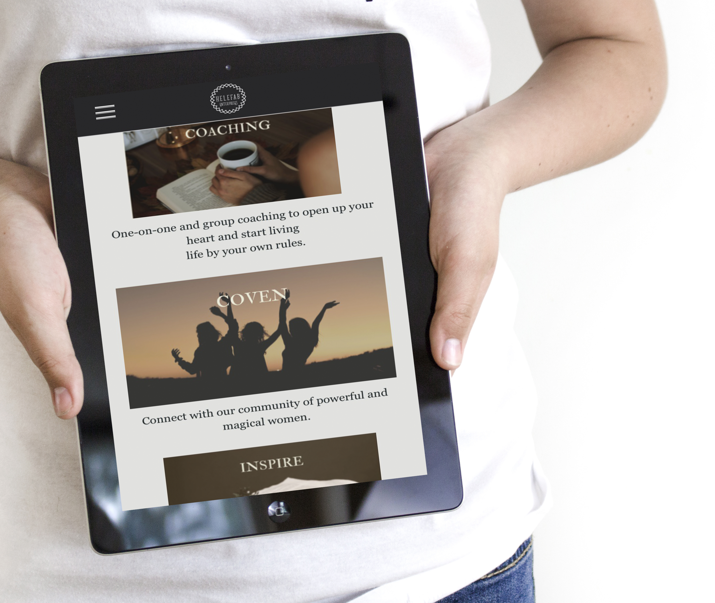 Website Design Mock Up