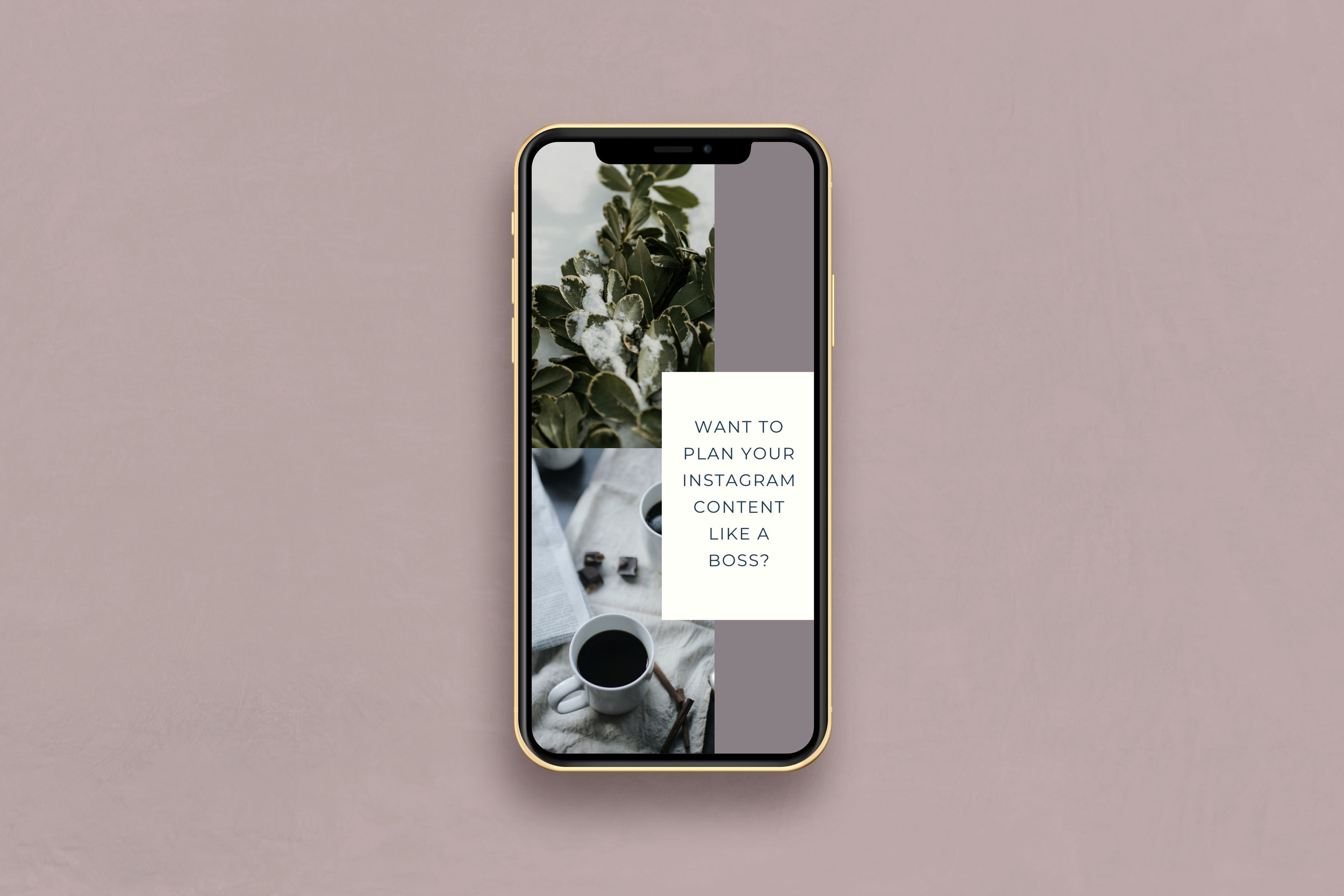 Instagram Story Templates - Content Creation