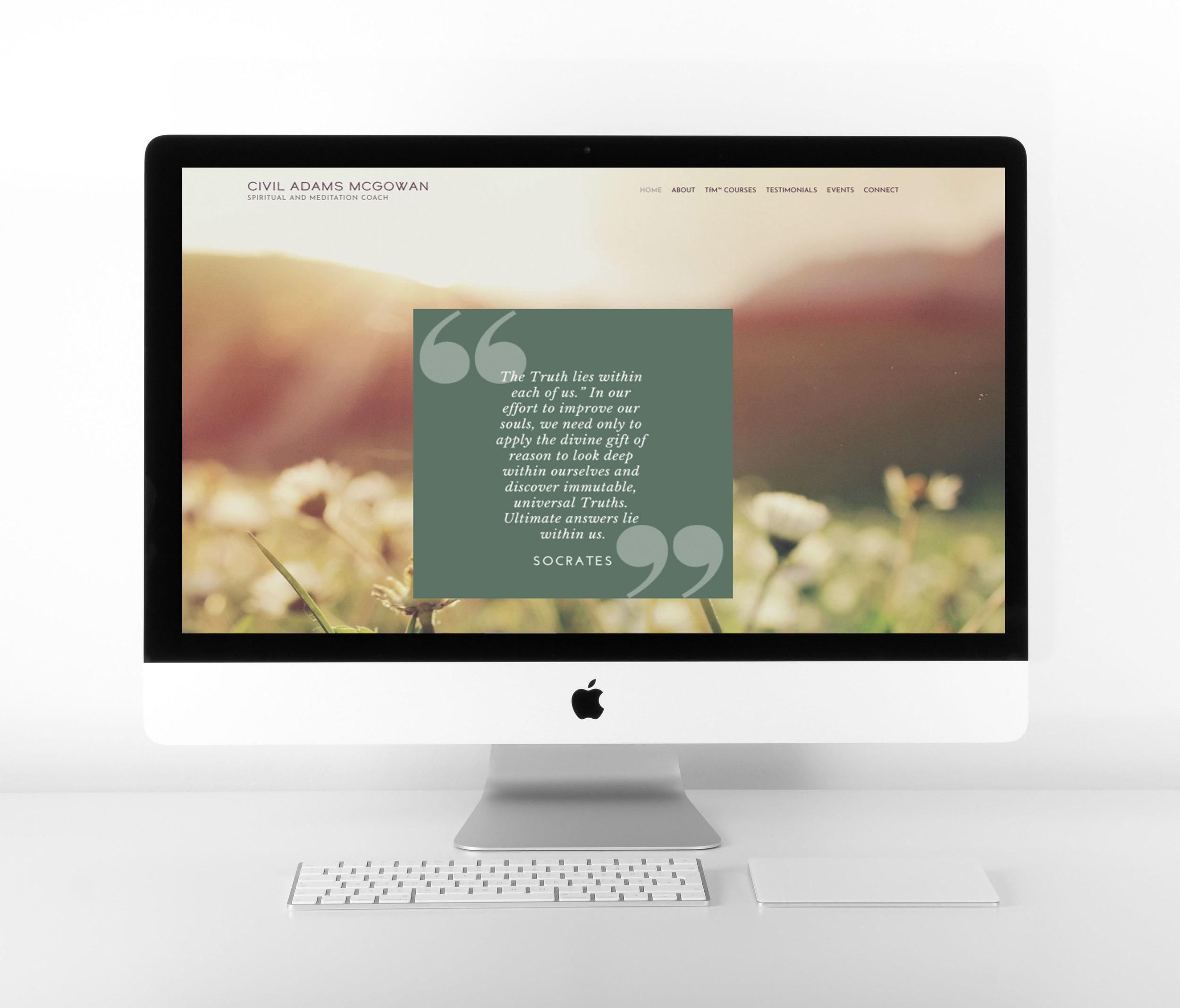 Nature Inspired Website Design