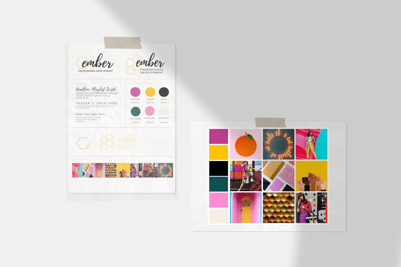 Bright and Colorful Brand Design
