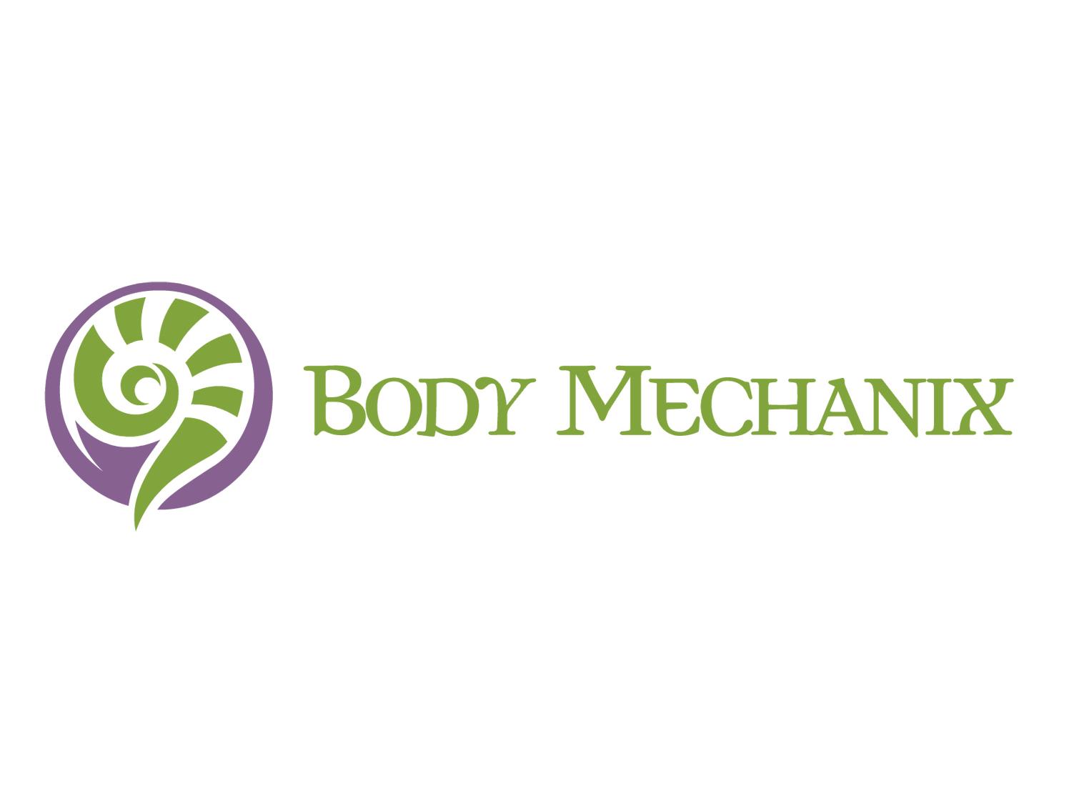 Body Mechanix Massage Therapy - Logo Design, Dover NH