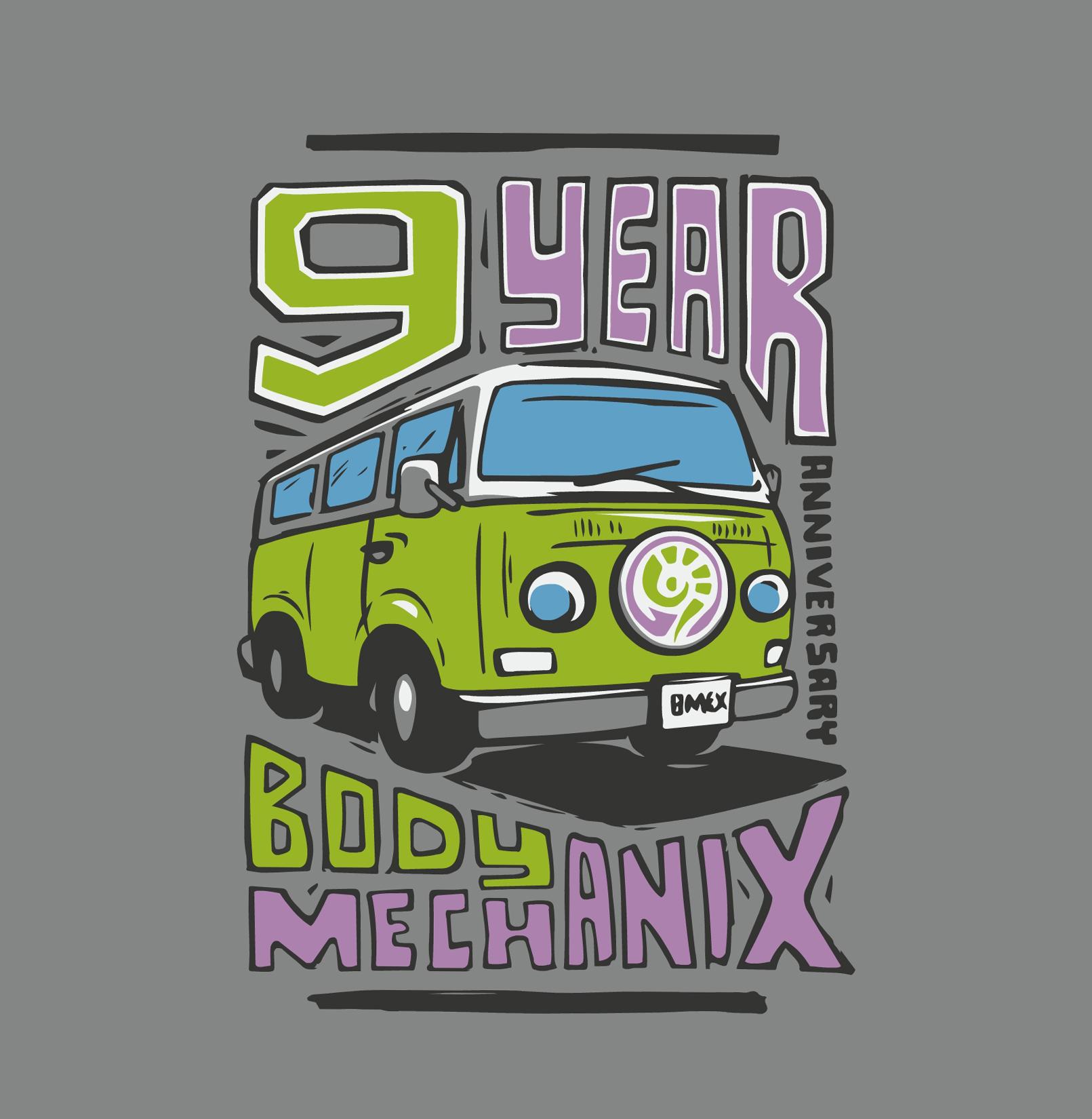 Body Mechanix - T-shirt Design