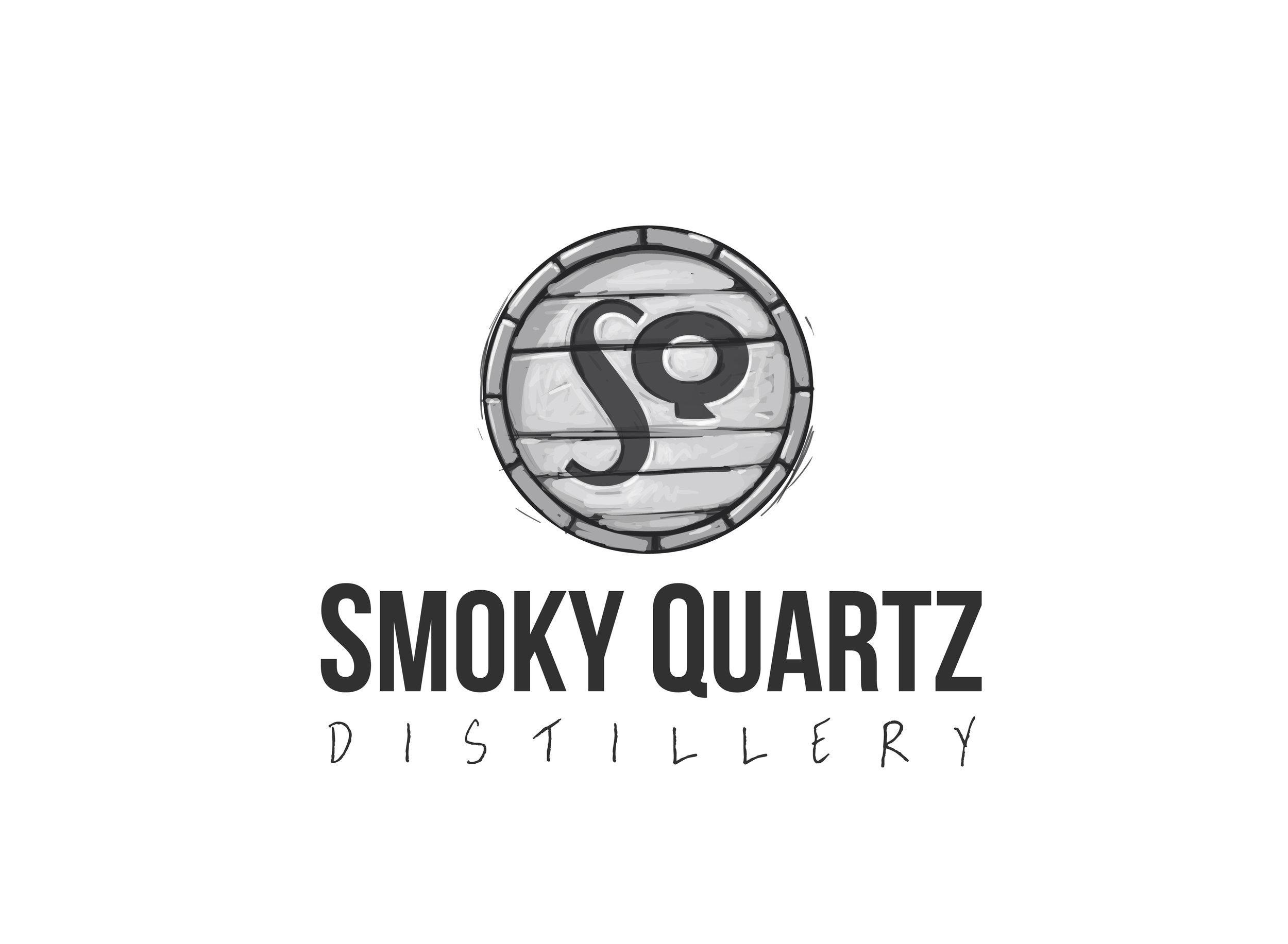 Smokey Quartz Distillery - Logo Concept, Seabrook NH
