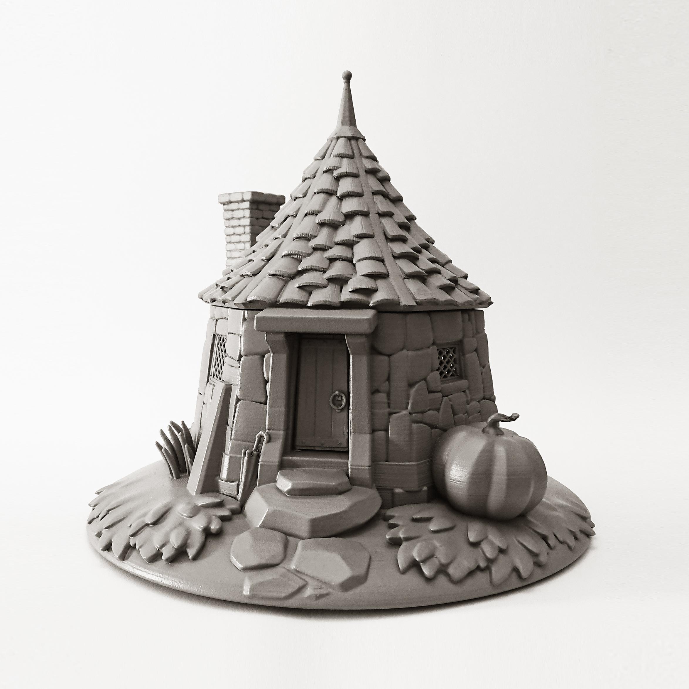 3D PRINT - HAGRID's HUT