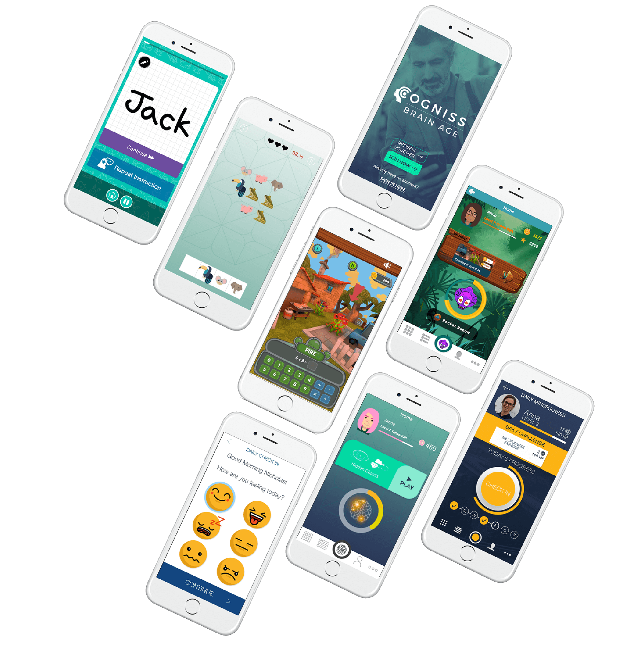 Cogniss apps