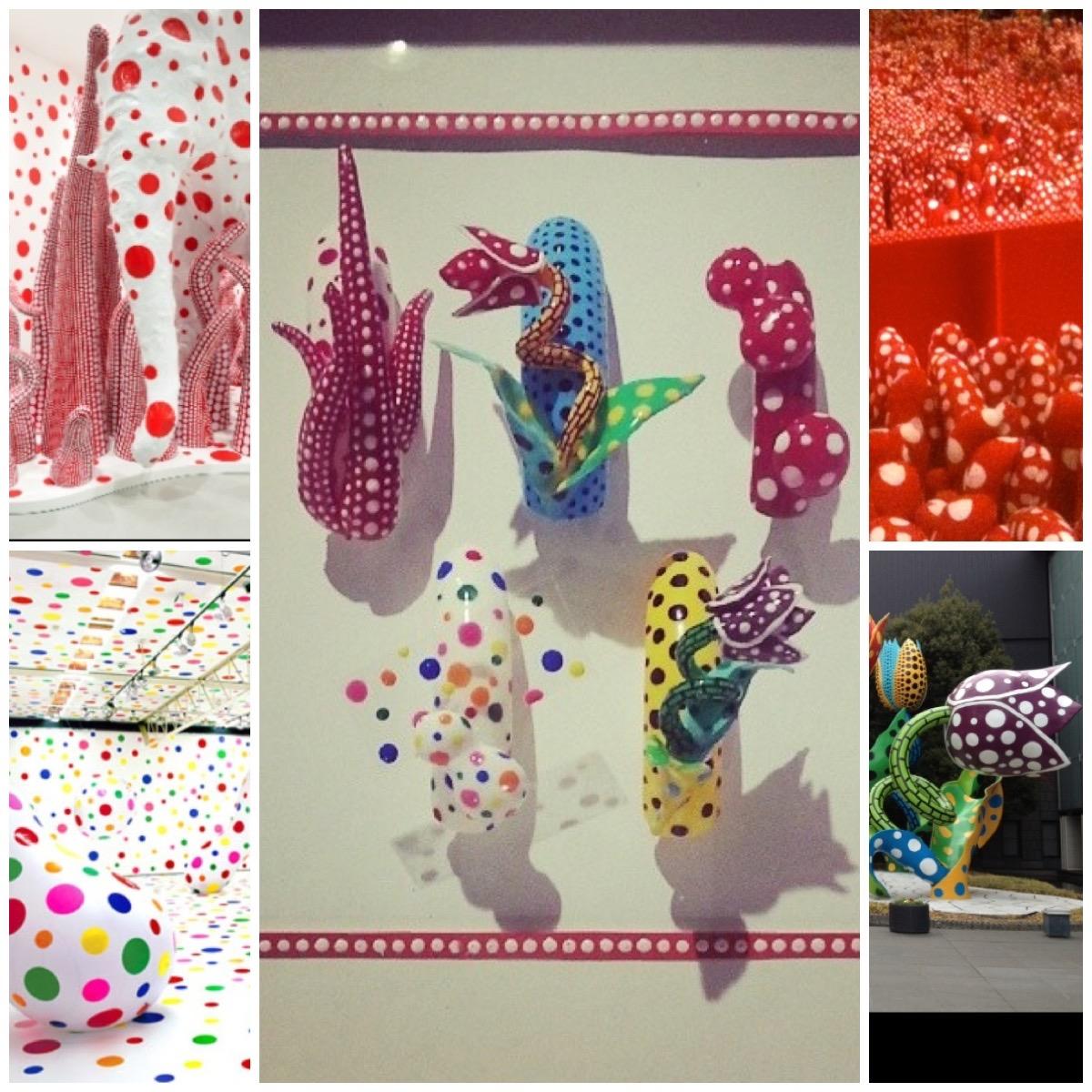 Kimi's creation inspired by renowned Japanese artist, Yayoi Kusama