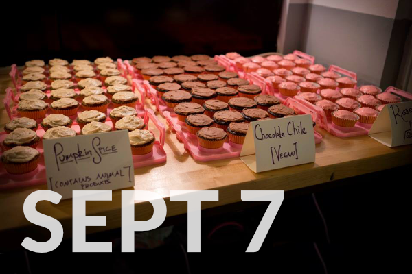 LAUNCH PARTY - Cupcakes, drinks, new music
