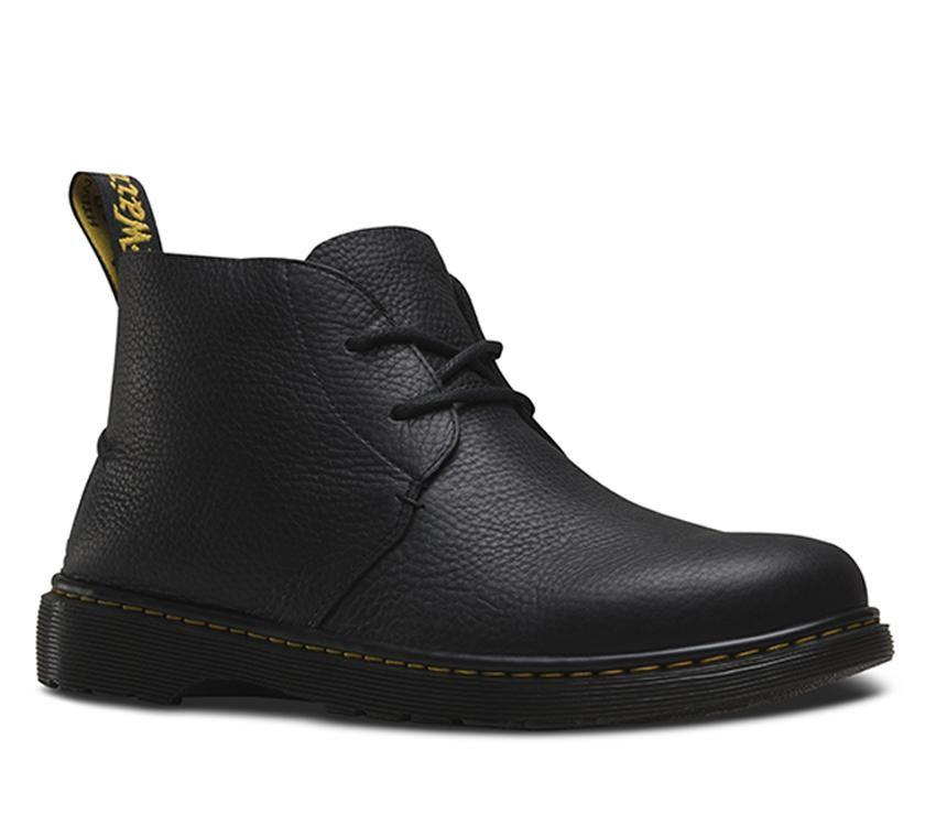 Ember $229  This raw, unlined and deconstructed 2 eye desert boot on the signature DM air cushioned sole.