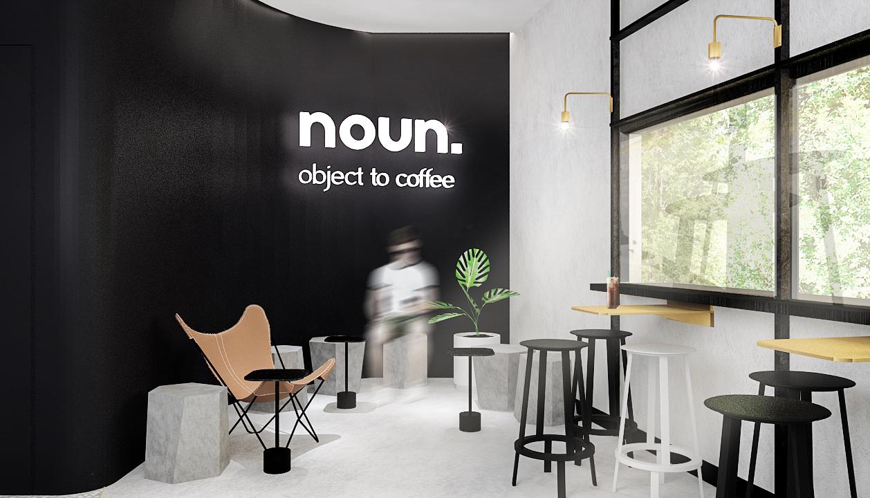 minimalist cafe design