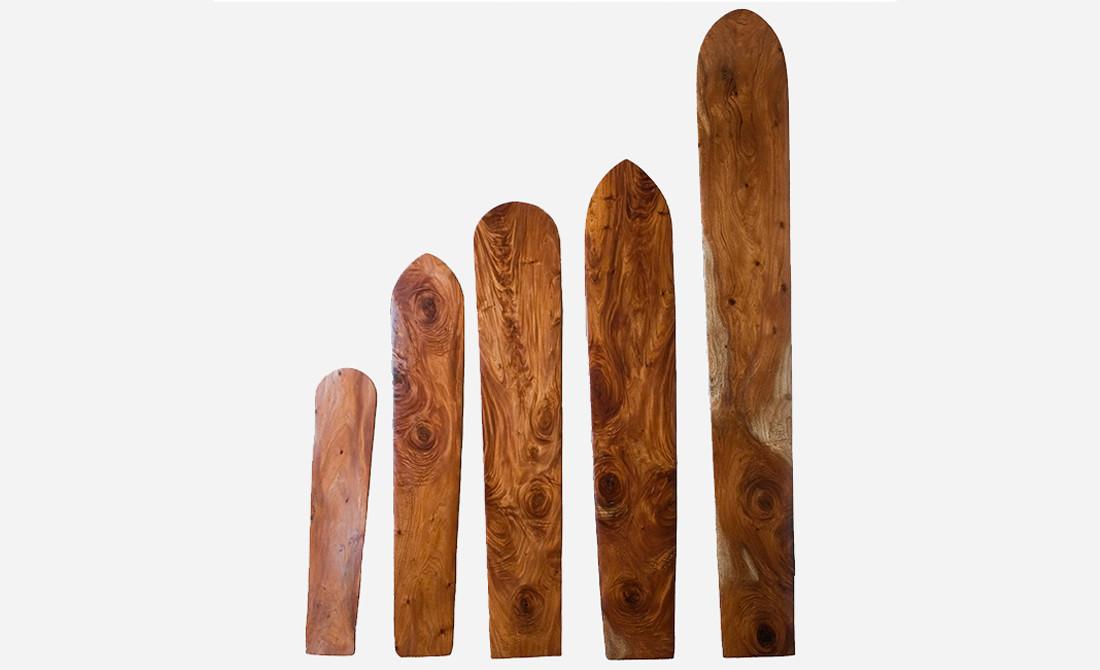 Koa Wood Replica Surf Boards