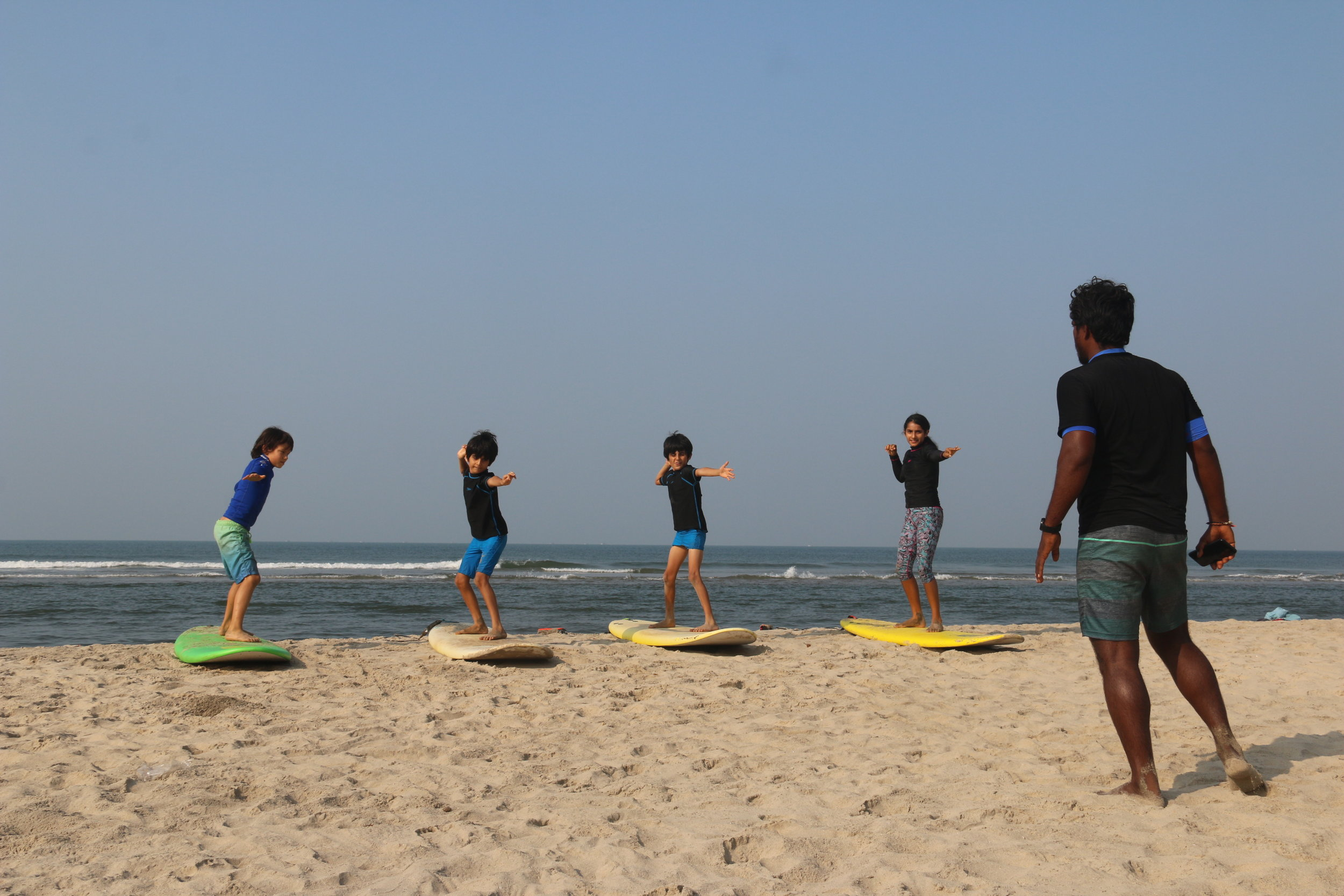 Learning to Surf at Vaayu