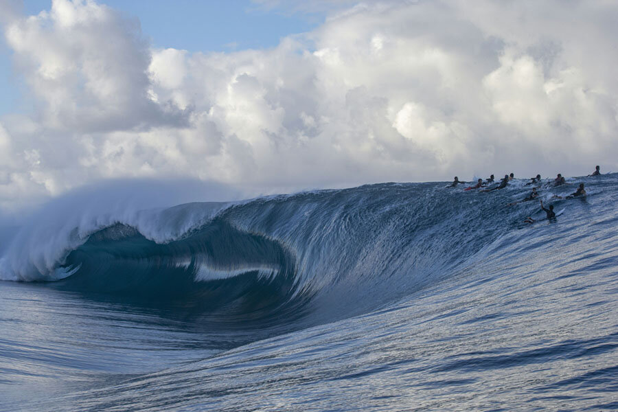 Teahupo'o showing us what it can do 2019