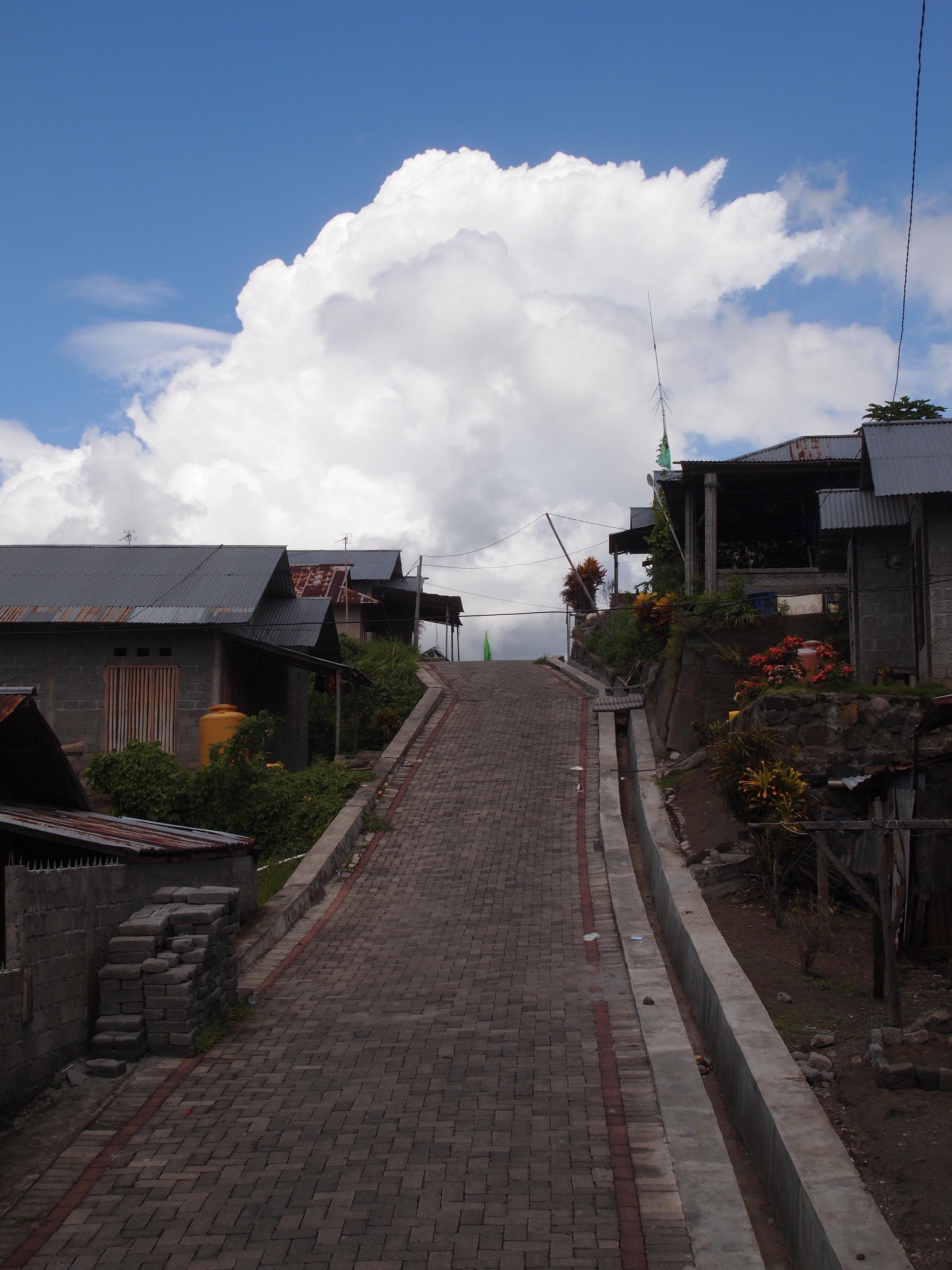 A street in West Wangurer.