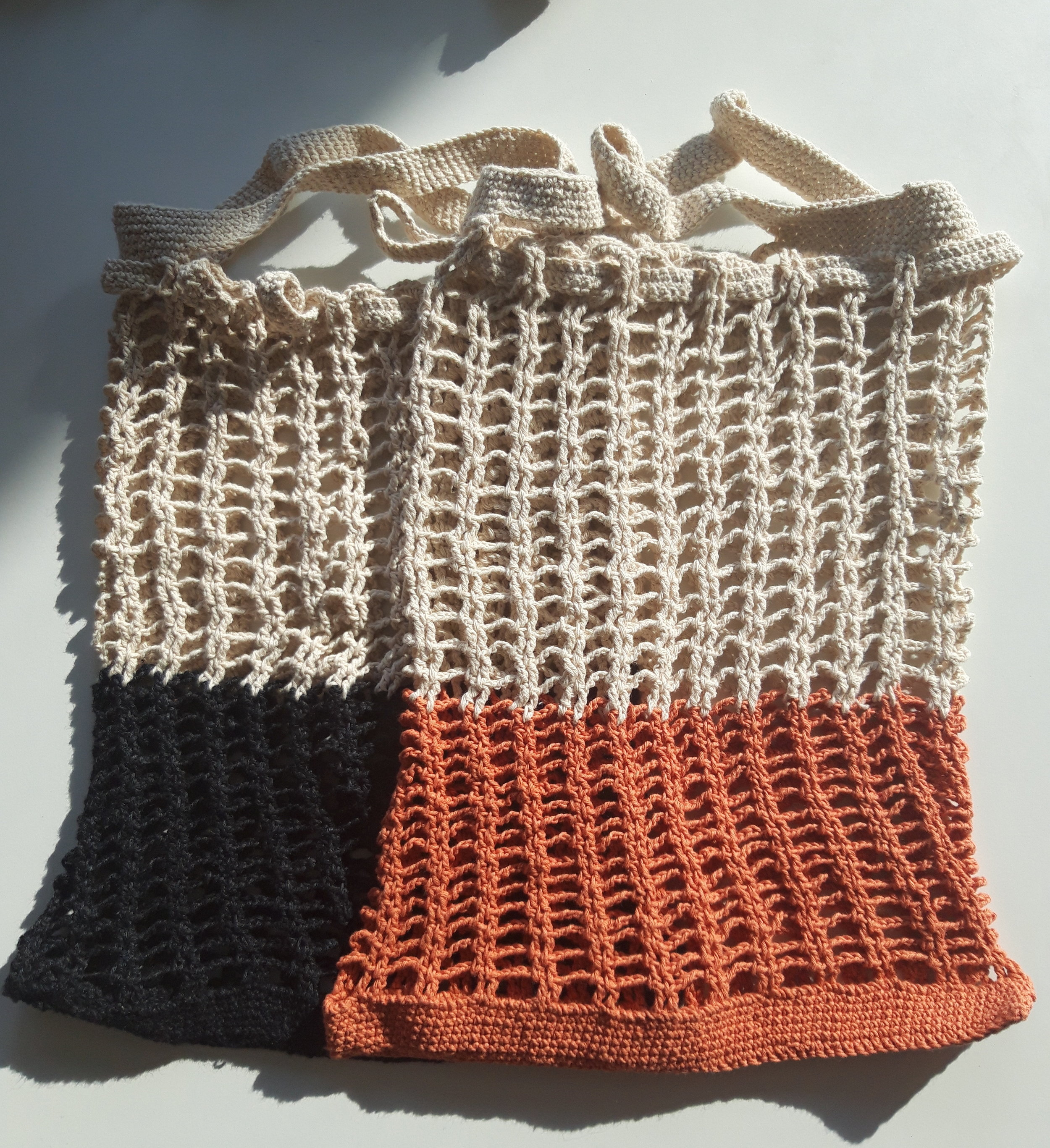 Beautiful bags made by Ibu Encum.