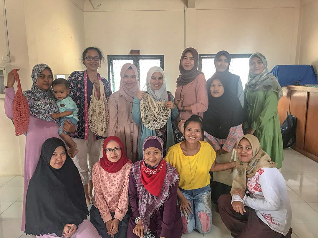 Last training day in Yayasan Alang-Alang, Ciawi, Bogor.