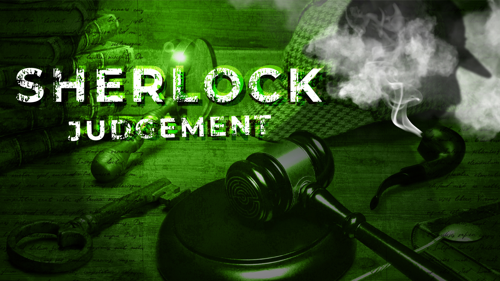 Sherlock Judgement - Evidence is key! When you have eliminated the impossible, whatever remains, however improbable, must be the truth.You and your team of detectives must investigate the mystery in the Courthouse and expose Moriarty's sinister plan.
