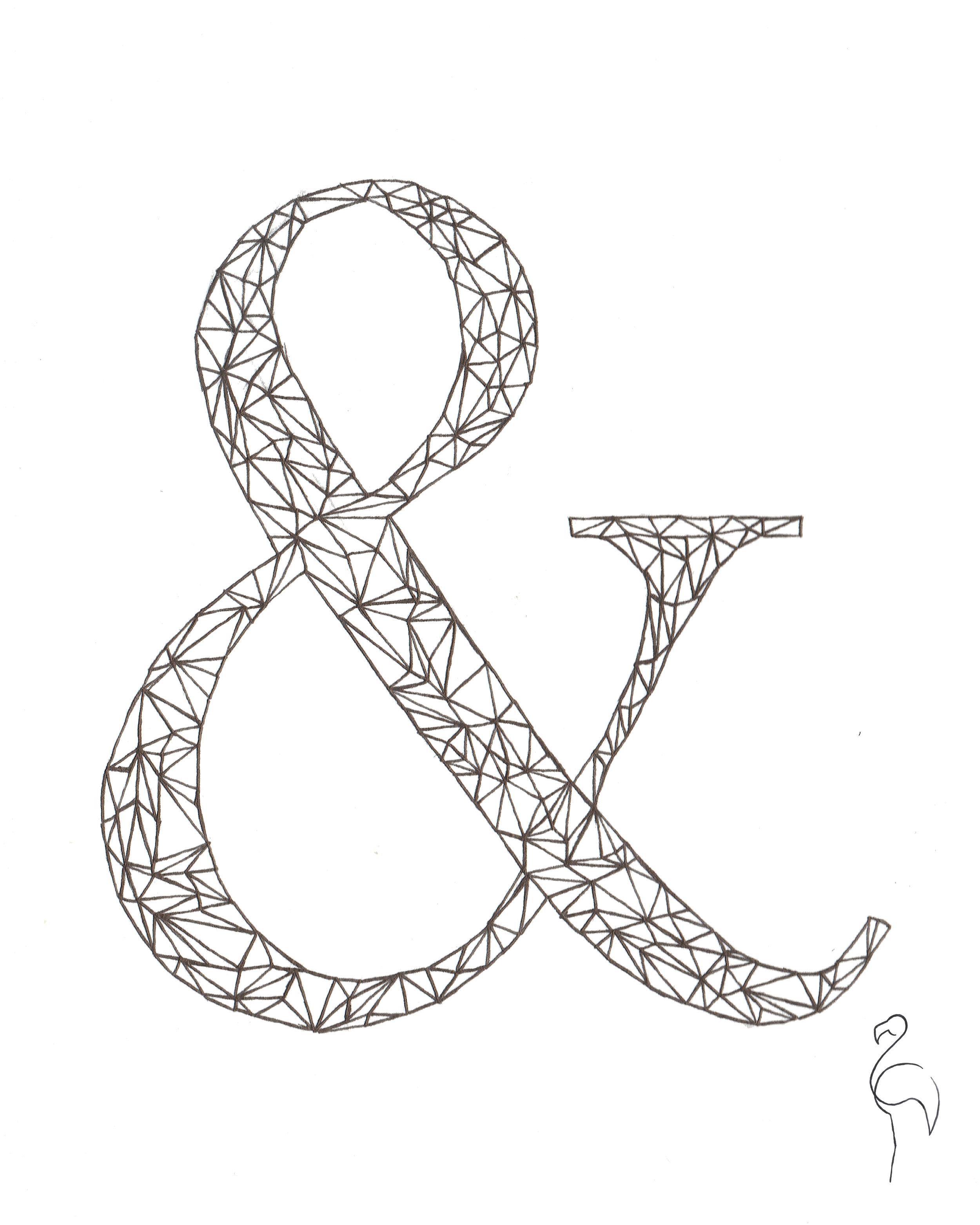 Brazzlebird - Ampersand Drawing Geometric Shapes.jpg
