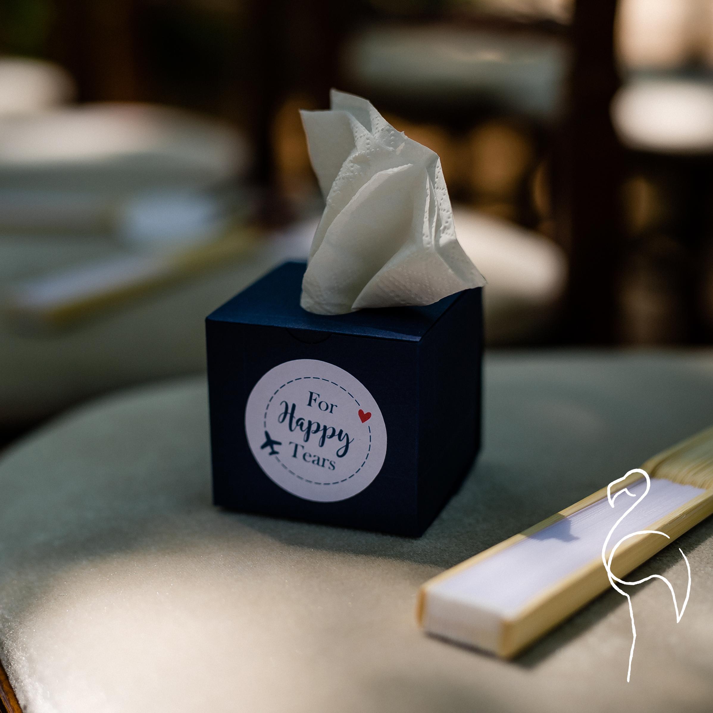 Brazzlebird - Custom Wedding Favors Tiny Tissue Boxes For Happy Tears.jpg