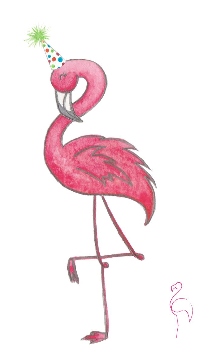 Brazzlebird - Character Collection Happy Birthday Flamingo.jpg