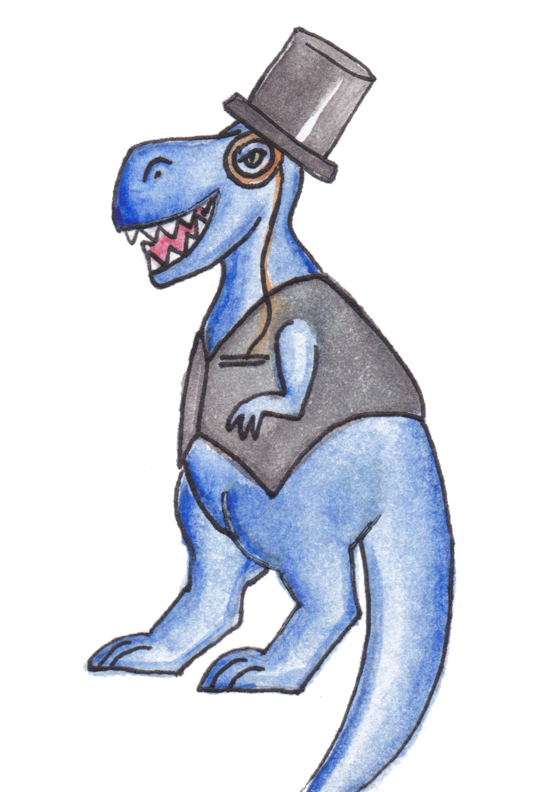 Brazzlebird - TRex in a Top Hat.jpg