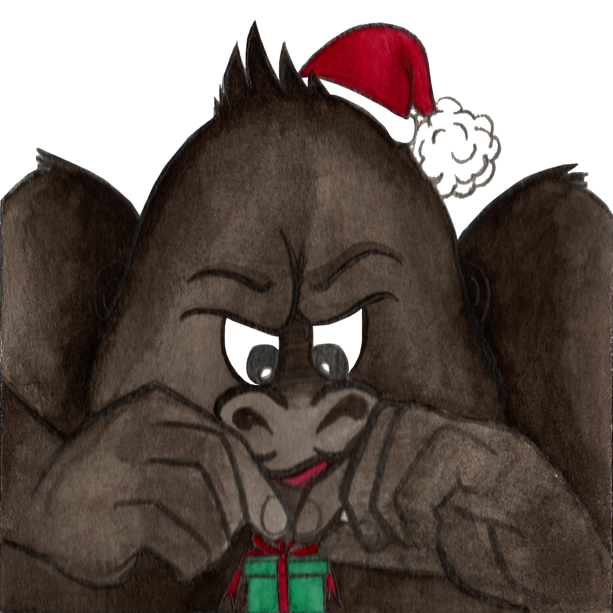 Brazzlebird - Christmas Gorilla