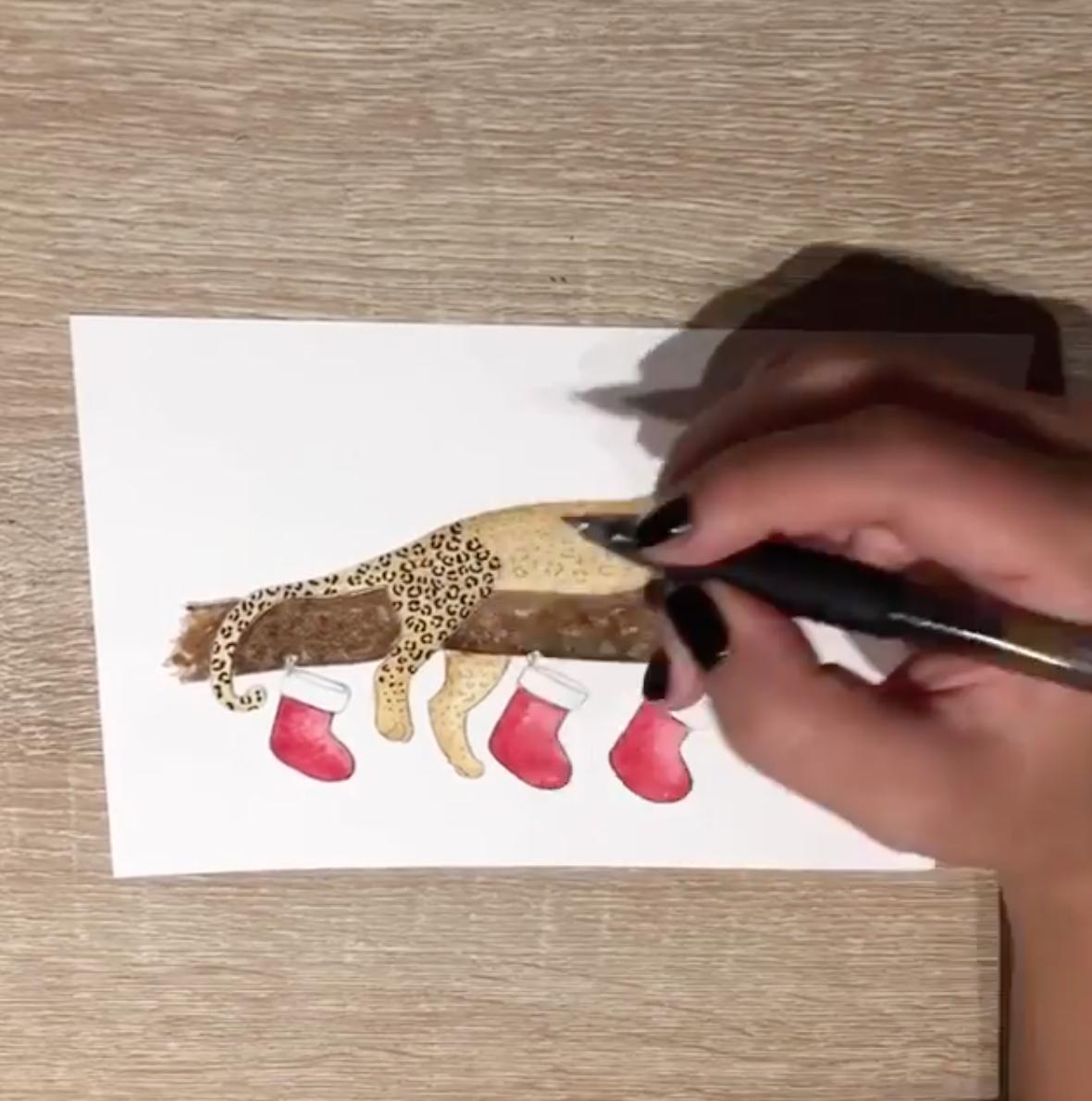 Brazzlebird - Leopard Painting Timelapse Icon